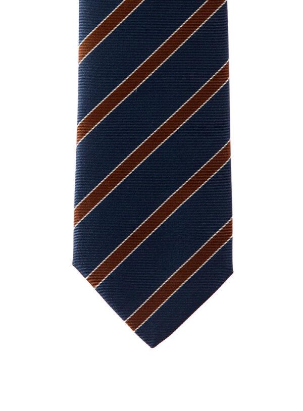 Cravatta regimental 3 pieghe