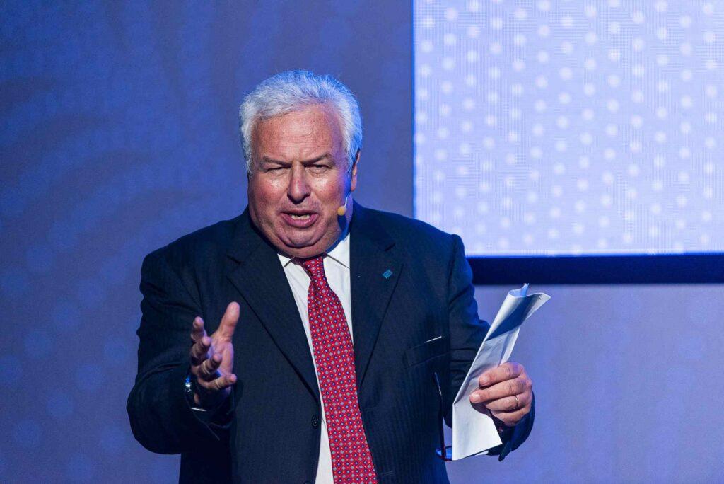 Il presidente dell'USSI, Gianfranco Coppola