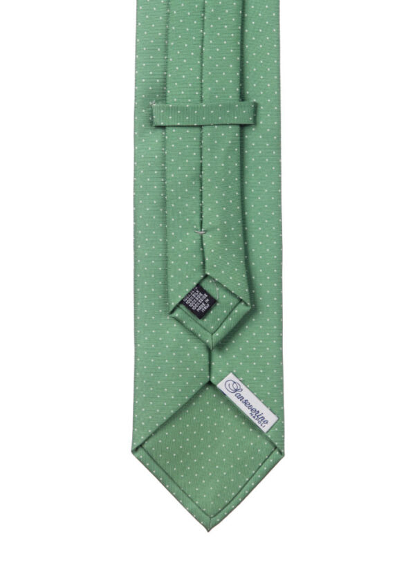 Cravatta tre pieghe Sanseverino Napoli a pois