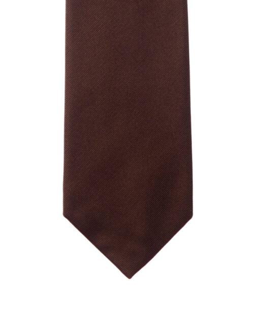 Cravatta tre pieghe tinta unita Sanseverino Napoli