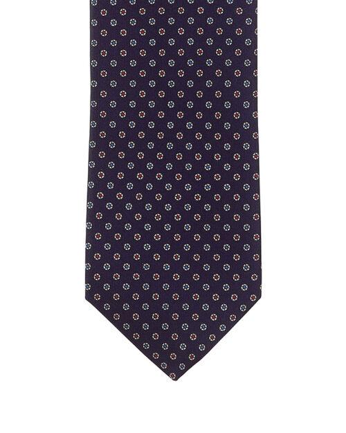 cravatta sette pighe fantasia