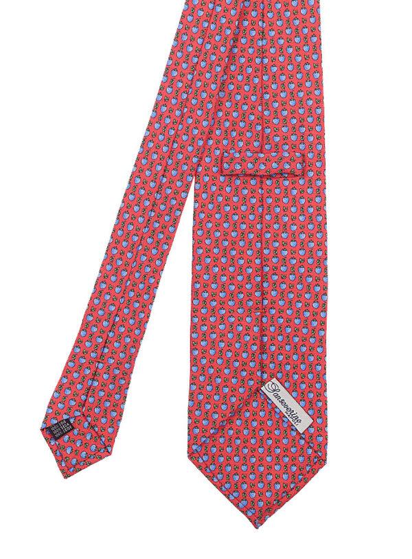 ss-tre-030-v cravatta tre pieghe in seta
