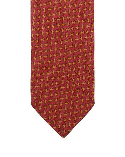 cravatta tre pieghe in seta