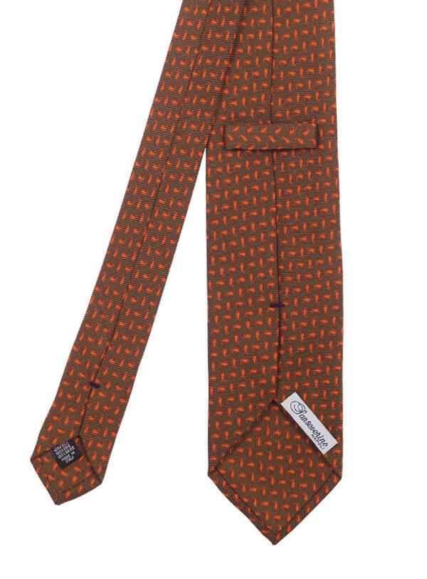 ss-tre-033-v cravatta classica tre pieghe